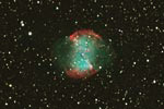 M27 - Dumbbell nebulae in the Fox / nebuleuse M27 - Dumbbell dans le Petit Renard